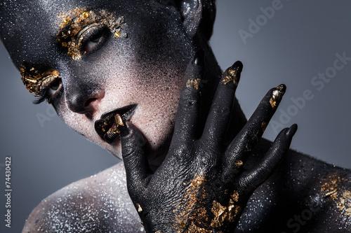 Fotografía  Beautiful, artistic makeup