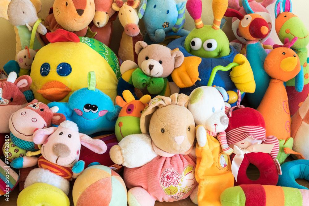 Fototapety, obrazy: Soft toys
