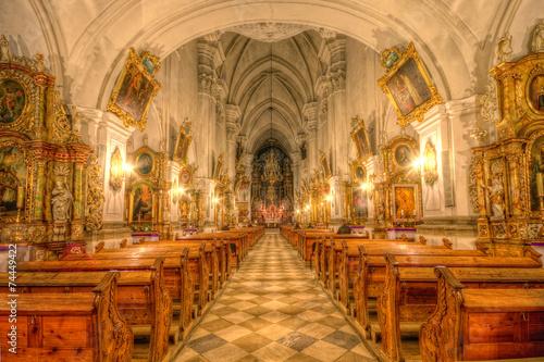 Wnętrze Sanktuarium św. Jadwigi w Trzebnicy - fototapety na wymiar