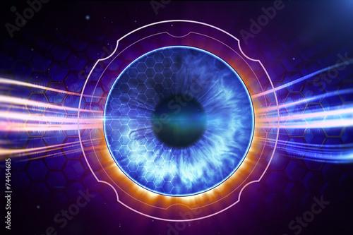 Fotomural Retina Scanner
