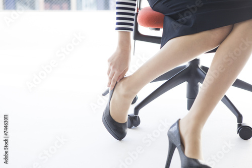 Fotografia  Women who wear high heels