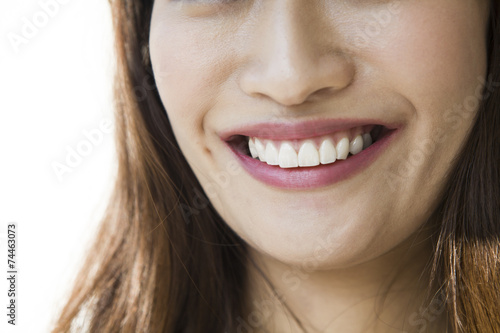 Valokuva  Smile mouth of woman