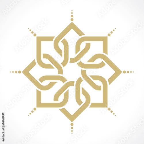 Fotografie, Obraz  oriental pattern