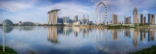 Foto auf AluDibond Singapur Landscape of the Singapore