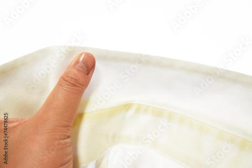 Fotografía  汚れたシャツ