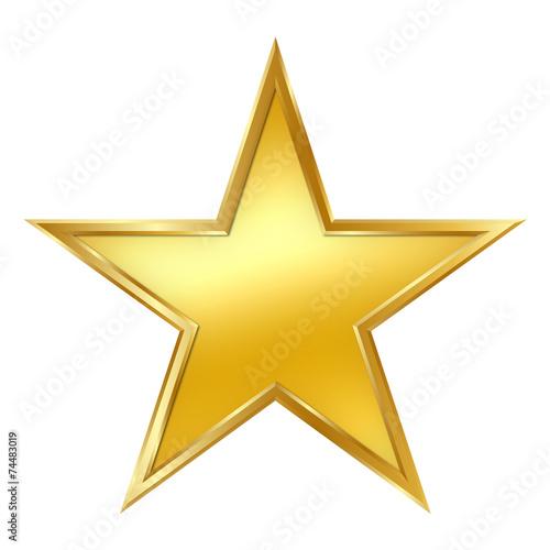 stern goldstern golden star rand rahmen gelbgold. Black Bedroom Furniture Sets. Home Design Ideas