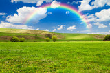 Fototapeta Tęcza - rainbow background