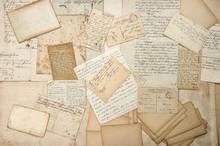Old Letters, Handwritings, Vin...