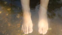 Foot Soak In Natural Mineral W...
