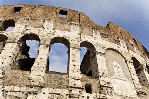 Fotografie, Obraz  Flavian Amphitheatre