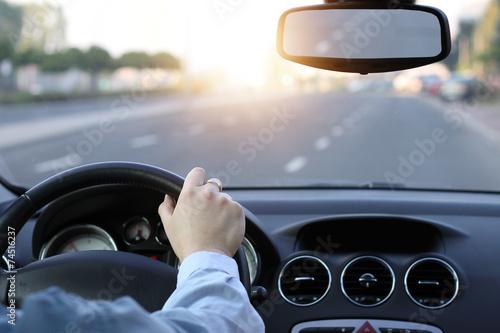 Fotografie, Obraz  Sunny day on the road