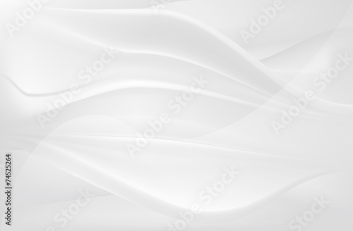 Plakaty białe  white-smooth-silk-flow-abstract-background