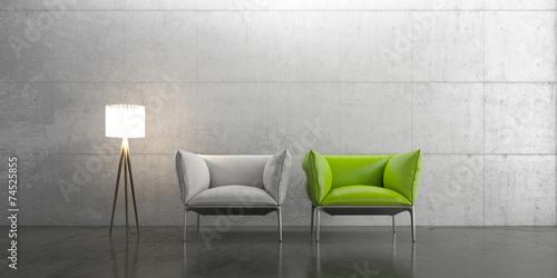 Fotografie, Obraz  Wohnen, Design, Interior, Möbel