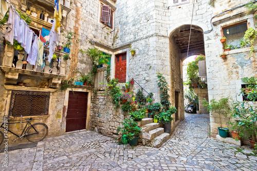 Fototapety, obrazy: Old stone street of Trogir