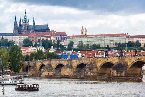 Foto op Plexiglas Japan Cityscape of Prague.