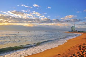 FototapetaBarcelona beach