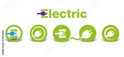 Photo  Electric icons