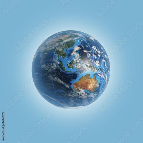 Planet. Wallpaper Mural