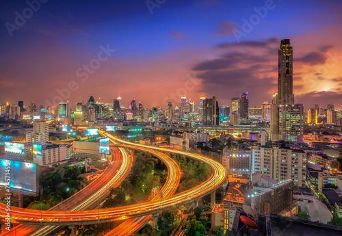 Bangkok city Poster