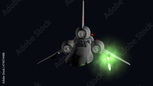 Photo starfighter front firing