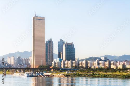 Seoul Skyline Poster