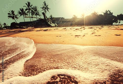 Staande foto Oceanië Tropical beach