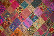 Patchwork Bedspread In The Eas...