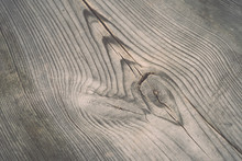 Wooden Plank With Splinters And Cracks - Retro, Vintage