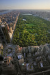 Aerial view of Central Park and Columbus Circle, Manhattan, New