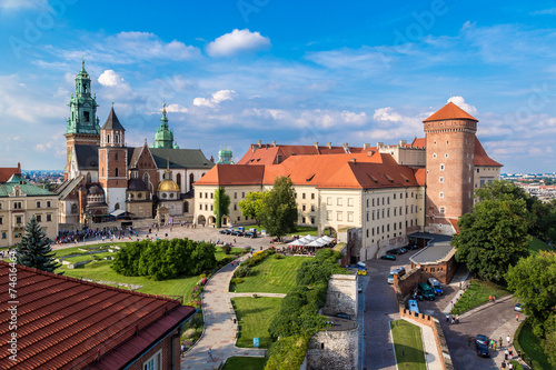 Photo sur Aluminium Cracovie Poland, Wawel Cathedral
