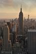 New York City skyline and Empire State Building, Manhattan, New