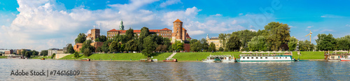 Wawel castle in Kracow #74616809