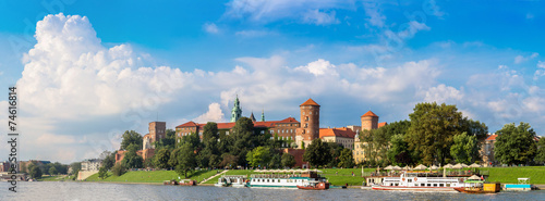 Wawel castle in Kracow #74616814