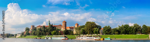 Wawel castle in Kracow #74616815