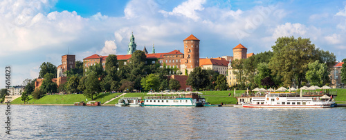 Wawel castle in Kracow #74616823