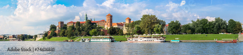 Wawel castle in Kracow #74616831