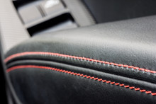 Leather Decoration In A Modern...