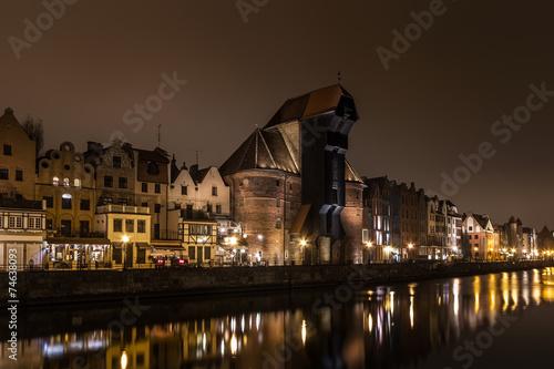 Gdańsk old crane