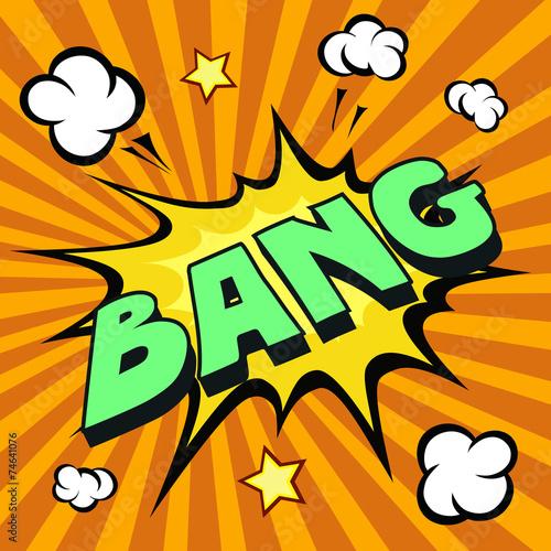 Photo  bang comic explosion
