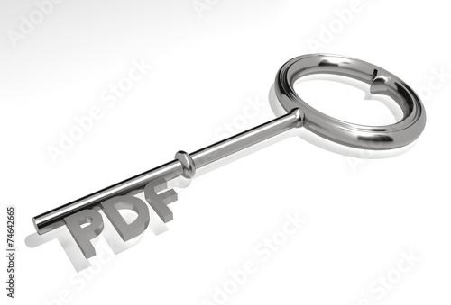 Fotografie, Obraz  Pdf access - concept