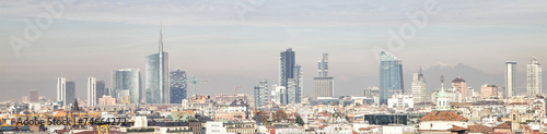 Deurstickers Milan Milan