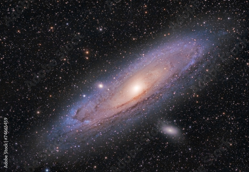 Obraz Andromeda Galaxy - fototapety do salonu