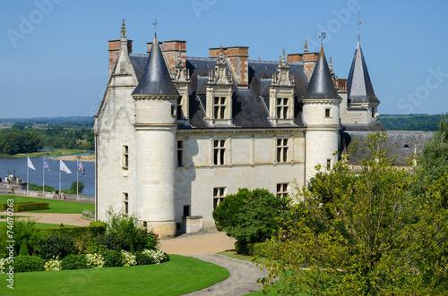 Photo  Chateau de Amboise medieval castle France Europe