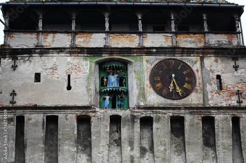 Fotografie, Obraz  Clock tower of Sighisoara