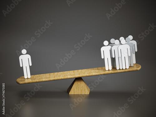 Fotografie, Obraz  Business balance