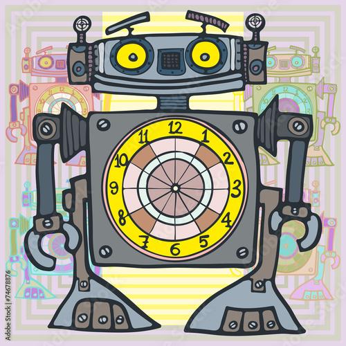 zegarek-robot-potwor