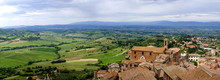 View Of Val D'Orcia Valley. ...
