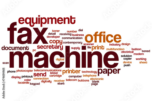 fax machine word cloud buy this stock illustration and explore