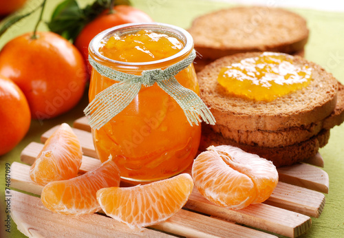 confettura biologica di mandarino clementina Wallpaper Mural