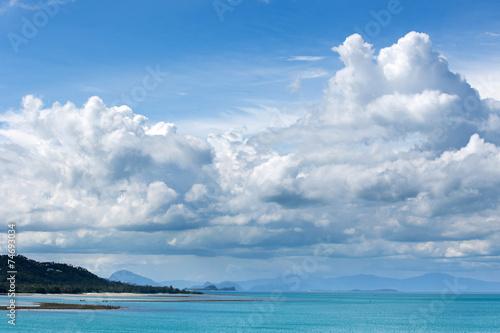 Foto op Canvas Luchtsport tropical sea
